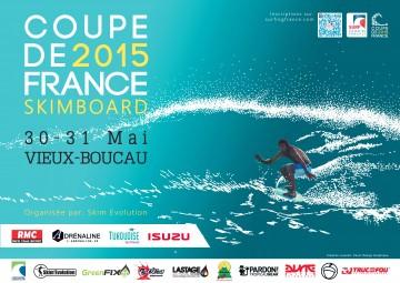 Affiche 2ème étape de la Coupe de France 2015