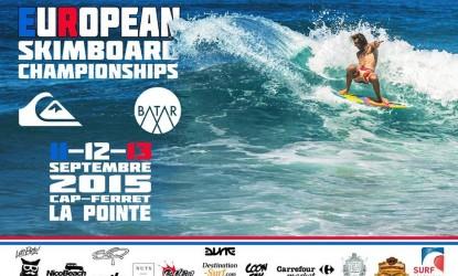 Championnats d'Europe de skimboard 2015