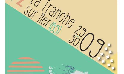 Affiche 2ème étape de la coupe de France de skimboard