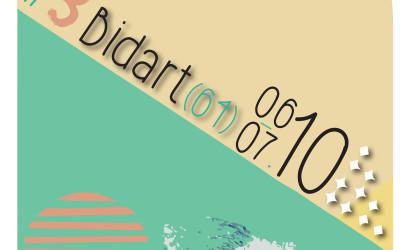 Affiche 3 ème étape de la Coupe de France de Skimboard Bidart