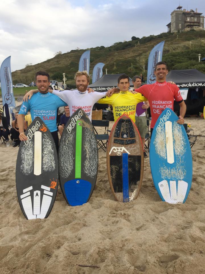 Finale - Coupe de France de skimboard 2019 plage d'Ilbarritz Bidart