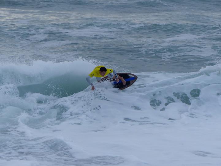 Beryl Besseau - Coupe de France de skimboard 2019 plage d'Ilbarritz Bidart